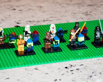 STAR WARS Figurines, Set of 8!!
