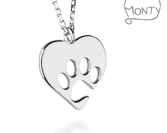 Pawsome Love - Necklace