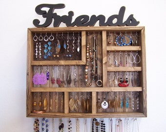 Jewelry Organizer Earring Storage