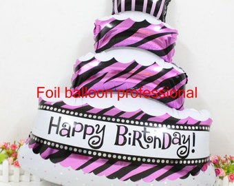 Jumbo Birthday Cake Balloon