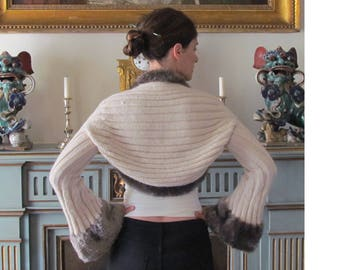 Knitting Pattern PDF Instant Download Shrug Pinna  for Woman for Teen