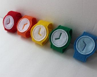 Toddler Watch - Pretend Play Watch - Dress Up Watch - Costume - Stocking Stuffer