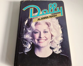 Vintage Dolly Parton biography, Vintage Dolly hardcover book,Vintage Dolly Parton