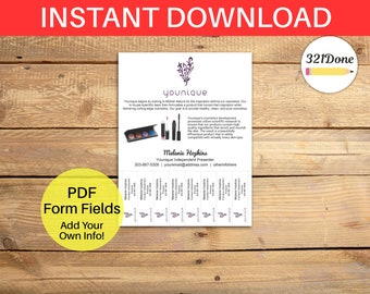 flyer templates with tear off tabs pdf