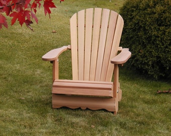 Handcrafted Folding Royal Adirondack Chair