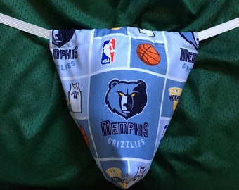 Mens MEMPHIS GRIZZLIES G-String Thong Male Nhl Lingerie Hockey Underwear