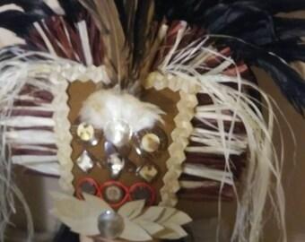 New Tahitian Headdress READY to SHIP TODAY!