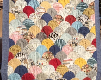 STPQ29 Shabby Clamshells Quilt Pattern (paper)