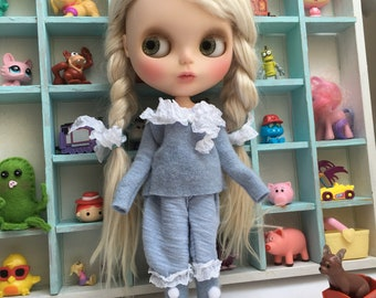 Blythe clothes blythe bloomers pantaloons and sweater set blythe doll clothes