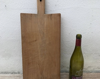 ANTIQUE VINTAGE FRENCH bread or chopping cutting board wood 0103182