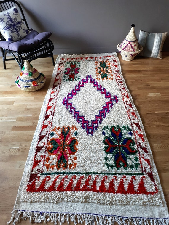 tapis berb re en laine chichaoua fait main. Black Bedroom Furniture Sets. Home Design Ideas