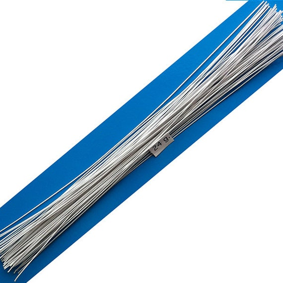 Blue Floral Wire - WIRE Center •