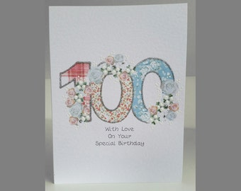 Special Wishes Large Birthday Special Age 100 Card SW BI27