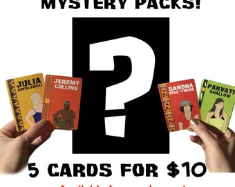 Survivor Trading Cards Mystery Pack