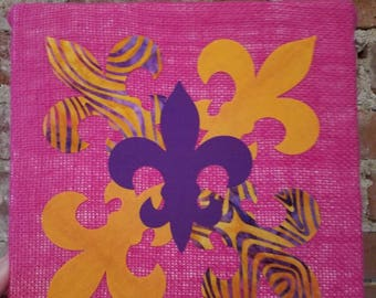 Fleur De Lis artwork