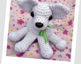 Chihuahua Amigurumi Crochet Pattern Instant Download