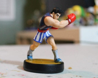 Custom Little Mac Amiibo | Red Gloves Alternate Costume