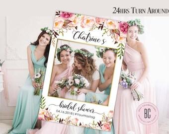 Bridal Shower Photo Prop, Wedding photo props, bridal shower, photo booth frame, Bridal Shower sign, Bridal Shower decoration, photo props