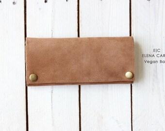 Vegan wallet women, Veg tan wallet, Fashion wallet, Slim wallet women, Vegan leather pocketbook, Leather wallet for women