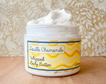 Double Chamomile Whipped Body Butter - Limited Edition Spring Scent