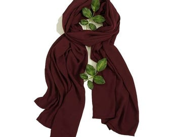 SCARVES | Burgundy | FASHION Accessories | ALPHONSINA