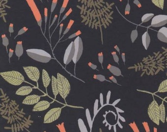 Foxtail Forest, Fern Bouquet, by Rae Ritchie Cotton Woven