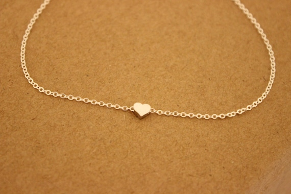 pendant simple gold dainty pin bracelet anklet rose