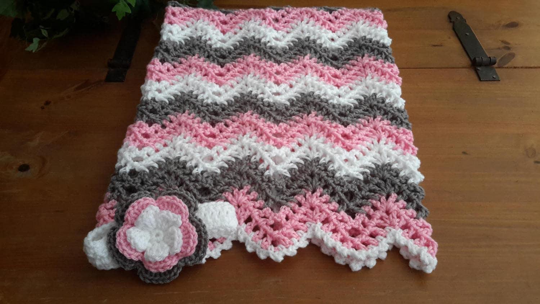 Hermosa Patrones Afganos Crochet Doble Ondulación Elaboración ...