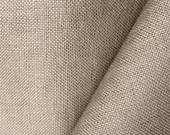 Bamboo Flax Linen - Sand