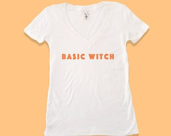basic witch shirt - basic witch tshirt - halloween costume - halloween shirt - halloween tshirt - womens halloween costume - basic witch