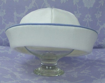 Sailor Hat by Okika matches boys christening outfit, Jack