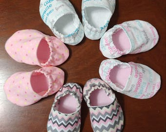Soft Baby Crib Shoes