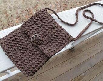 CROCHET PATTERN - Crossbody Bag - Crochet Bag Pattern - Crochet Purse Pattern - Easy Pattern