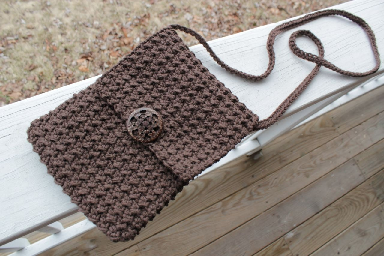 Crochet pattern crossbody bag crochet bag pattern zoom bankloansurffo Choice Image