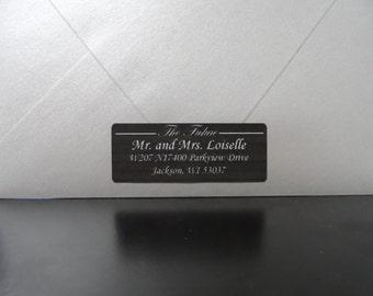 30 Future Mr and Mrs Wedding Return Address Labels, Personalized Wedding Return Address Label, Wedding Address Labels, Return Address Labels