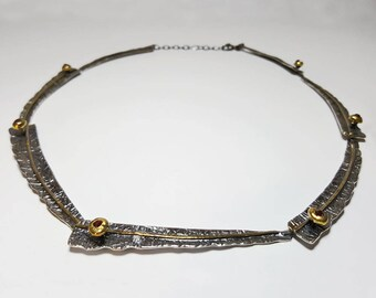 Unique Necklace for Wife, Unique Necklaces for Women, Swarovski Crystal Necklace Red, Unique Necklace Silver, Crystal Necklace for Women