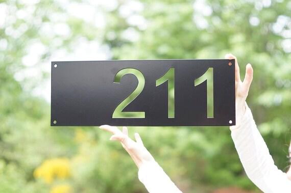 Moderne Hausnummern moderne hausnummern mid century modern hausnummern