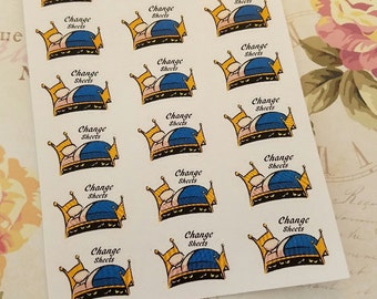 035 Change your Sheets planner stickers