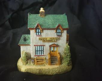 Mini Village House Hand Painted Vintage