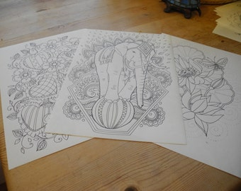 colouring page from colour it book 2