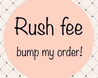 Rush Additional Shipping
