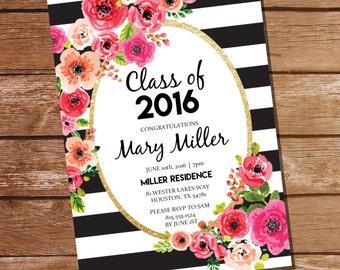 graduation invitations template