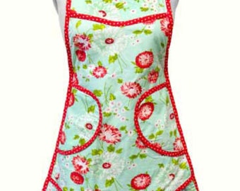 Aprons- Navy or Aqua-The Good Life by Bonnie and Camille for Moda- Floral