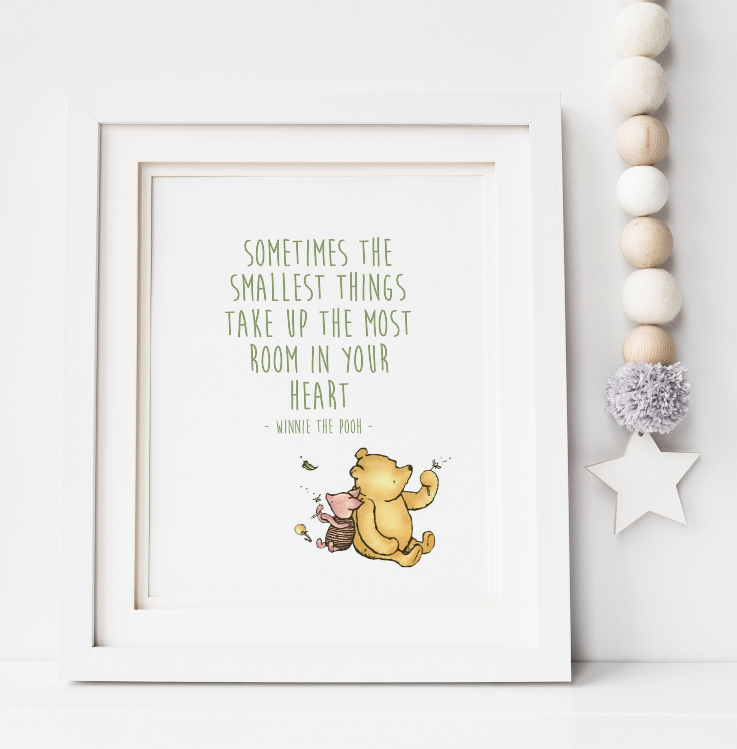 Winnie The Pooh Quotes Sometimes The Smallest Things: Sometimes The Smallest Things Take Up The Most Room Winnie