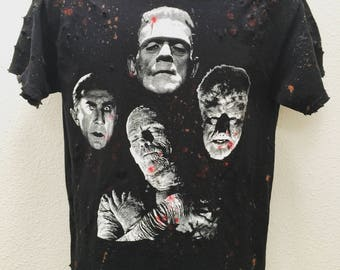 Creature Feature t shirt by Chad Cherry