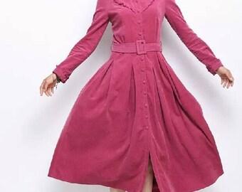 Long dress Col Claudine vivi dress  swing dress