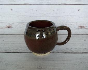 Metallic and Red Chub Mug