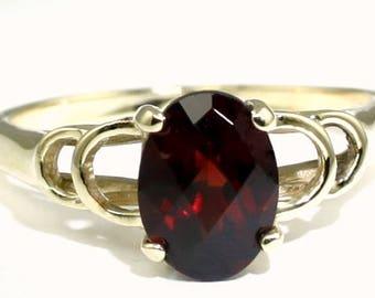Mozambique Garnet, 14KY Gold Ring, R300