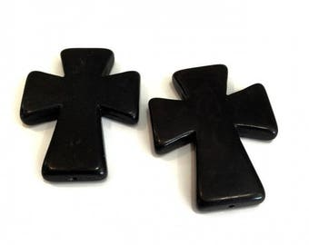 5 X 50mm or 5cm❤ stone cross ❤