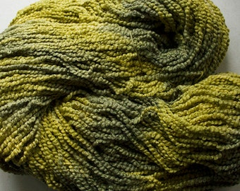 Puffin, Hand dyed cotton yarn, 8oz, 370 yds - Leaf